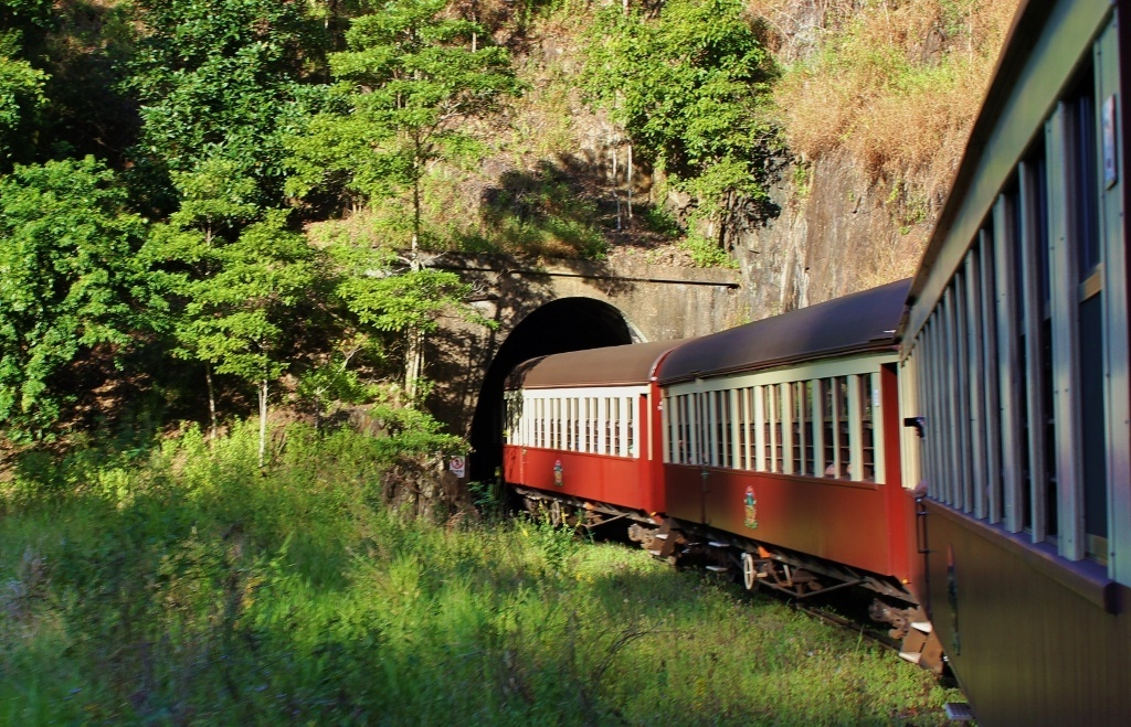 Things to do in Cairns, Australia on a budget: Take a shuttle to Kuranda and the Scenic Railway from Kuranda to Cairns to save about half of the round trip fare