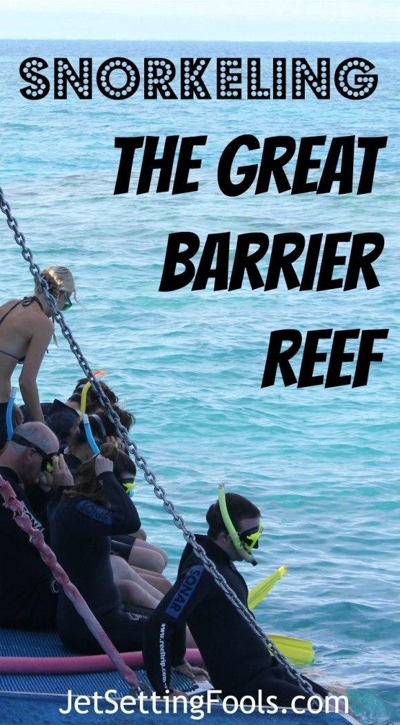 Snorkeling the Great Barrier Reef Australia JetSetting Fools