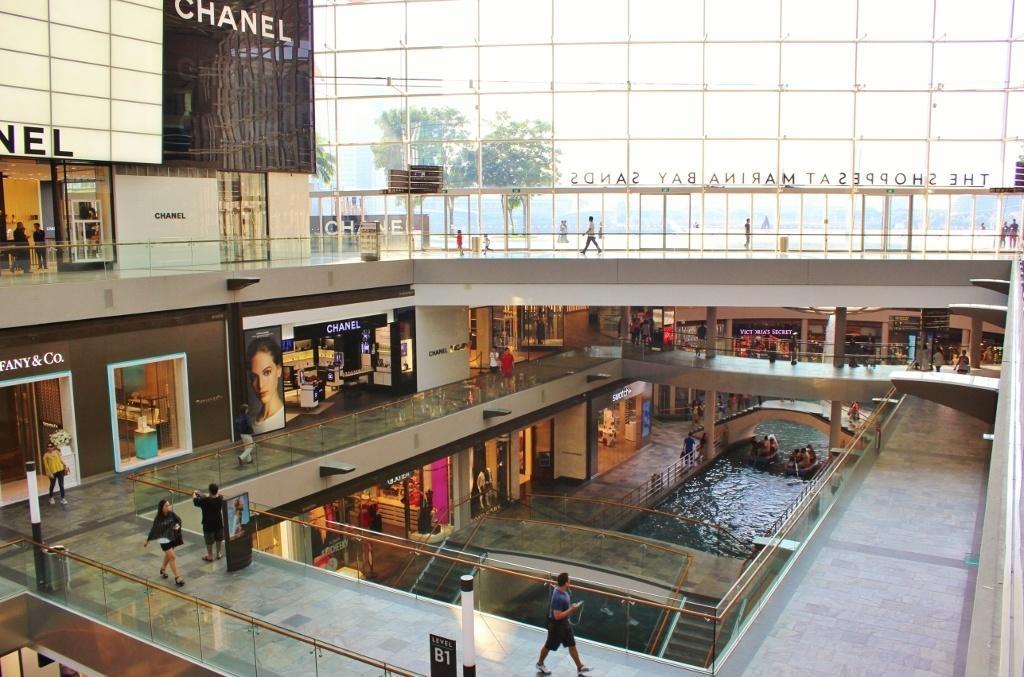 Singapore Marina Bay self-guided walking tour: The Shoppes at Marina Bay Sands