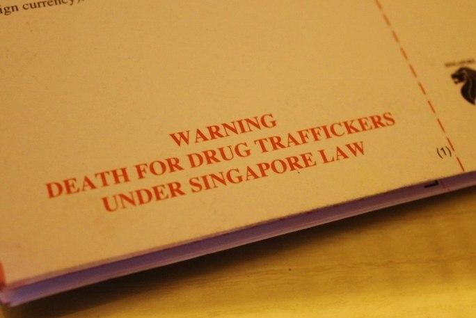 Impressions of Singapore: Warning Death for Drug Traffickers