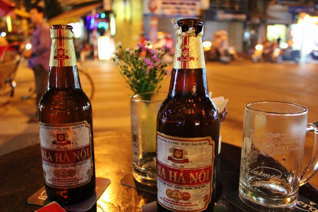 First impressions of Vietnam: The beer is cheap