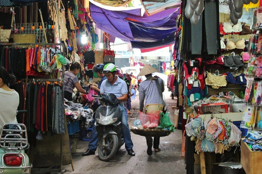 Streets of Hanoi: The alley dedicated to undergarments