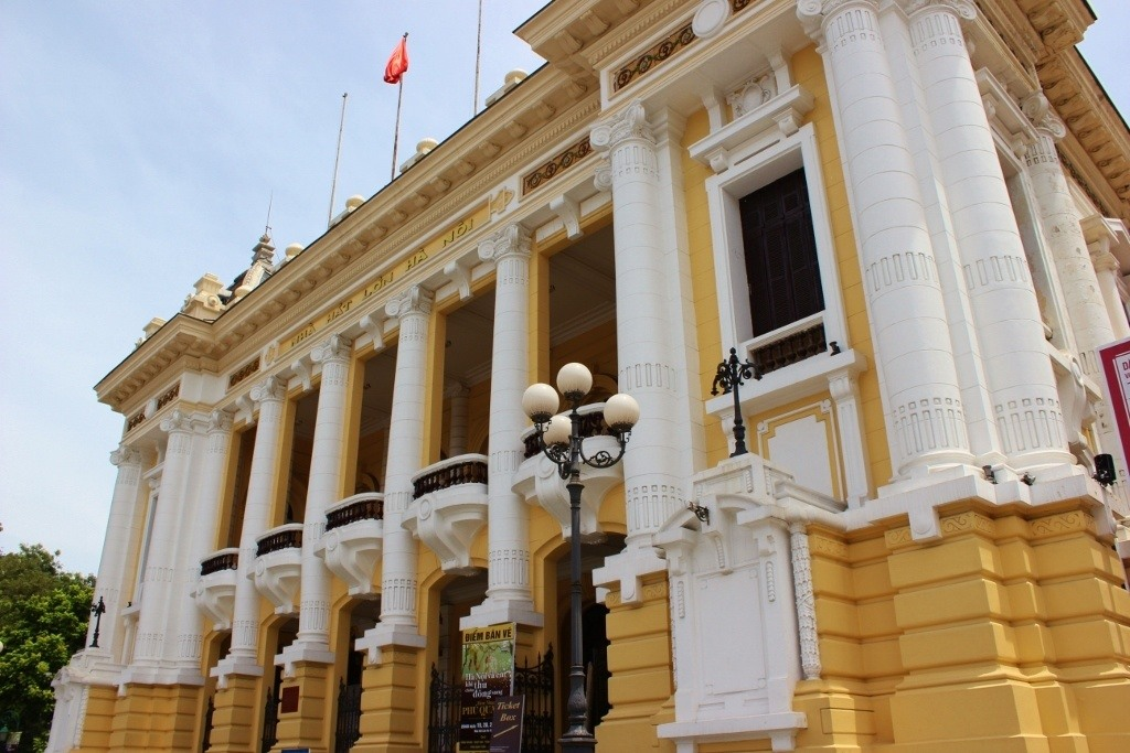 Streets of Hanoi: Walking the French Quarter by The Opera House