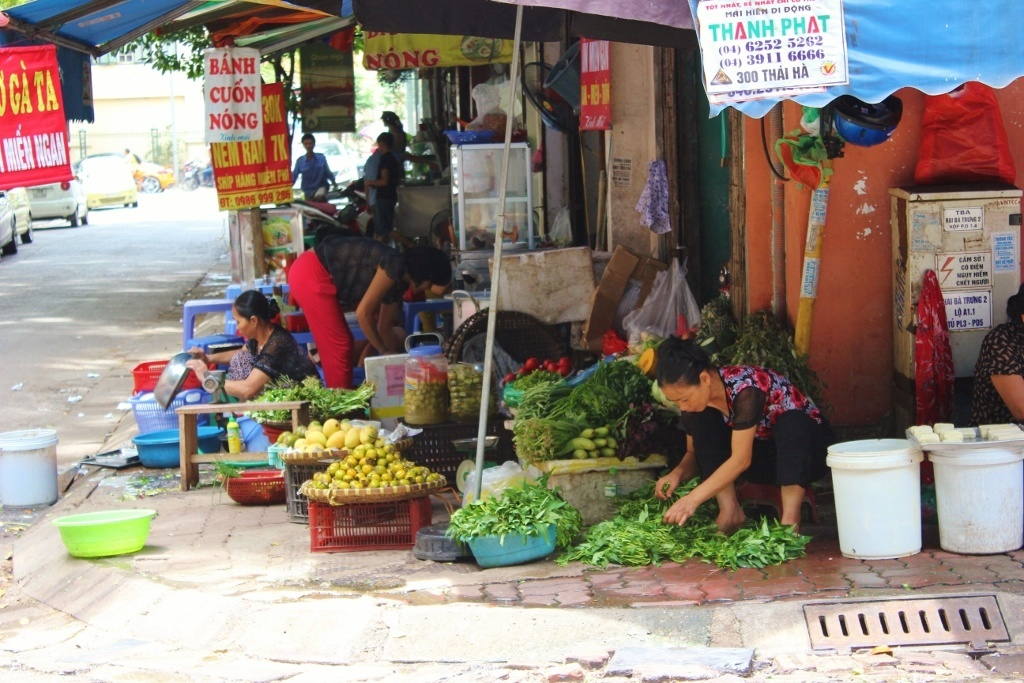 Streets of Hanoi: Khac Can Street in the French Quarter