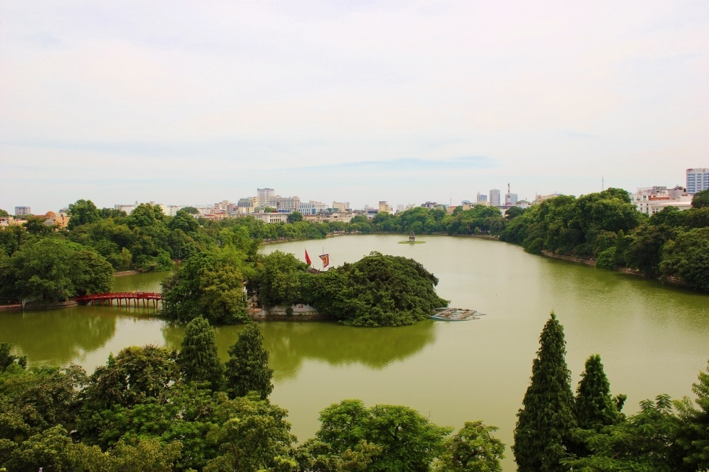 Streets of Hanoi: Hoan Kiem Lake