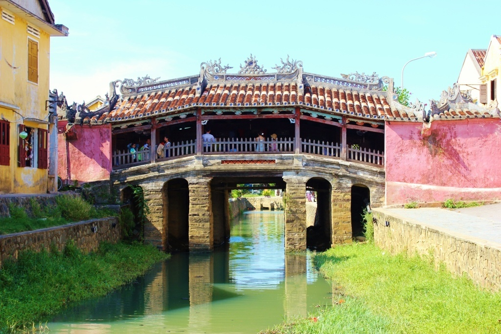 First impressions of Hoi An, Vietnam: historic Japanese Covered Bridge