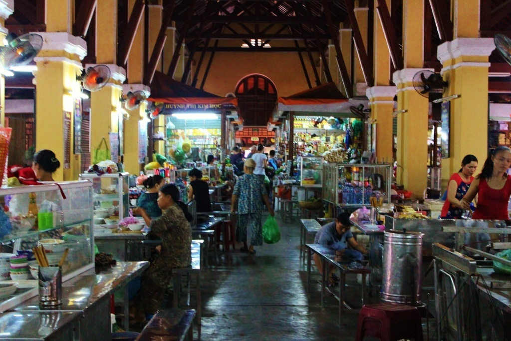 The indoor market