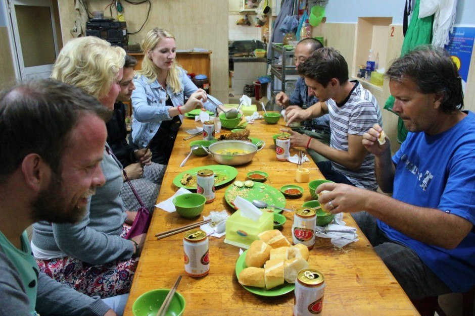Dinner at Dalat Restaurant with Dalat Tour Guide