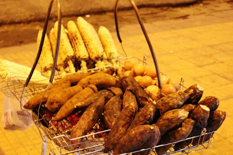 Sightseeing in Dalat, Vietnam: Typical street food in Dalat is different from what we've seen elsewhere in Vietnam