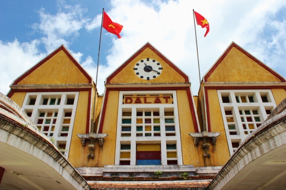 Sightseeing in Dalat, Vietnam: Cremaillere Train Station
