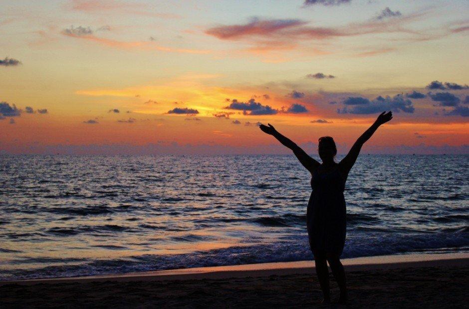 Phu Quoc Island, Vietnam sunset