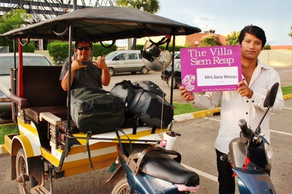 Southeast Asia Travel Budget: Transportation - Roundtrip transportation is provided by the hotel...but not always in a car!