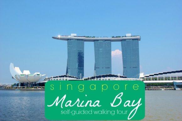 Singapore Marina Bay Self-Guided Walking Tour