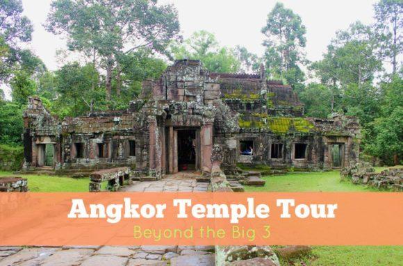 Angkor Temple Tour Beyond the Big 3 JetSettingFools.com