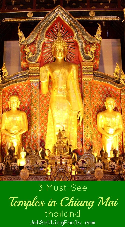 Chiang Mai Temples JetSettingFools.com
