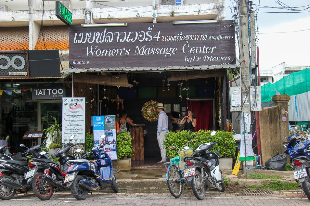 Women's Massage Center by Ex-Prisoners in Chiang Mai, Thailand