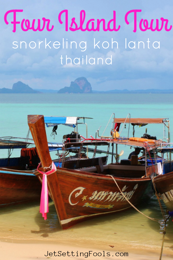 Four Island Tour Snorkeling Koh Lanta Thailand by JetSettingFools.com