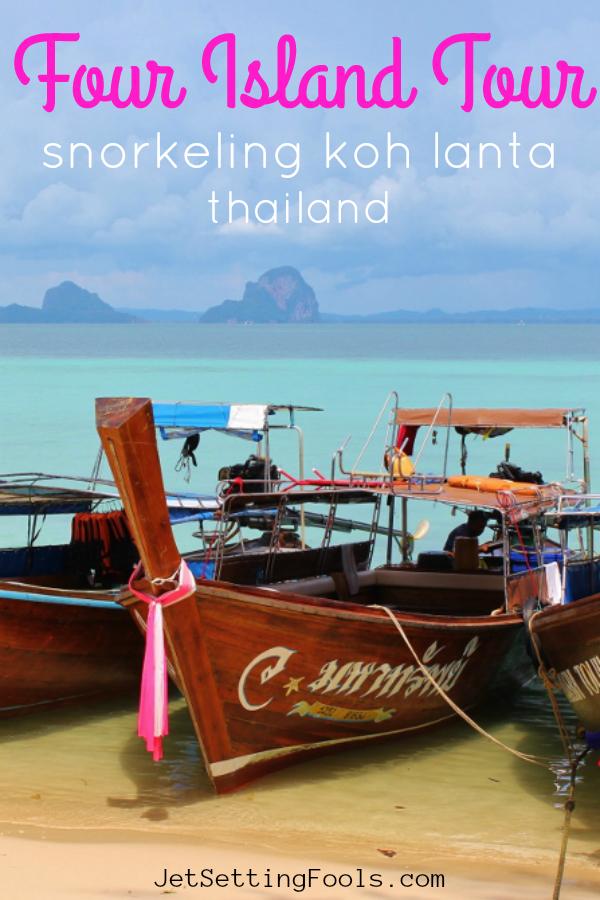Four Island Tour Snorkeling Koh Lanta Thailand by JetSettingFools.com