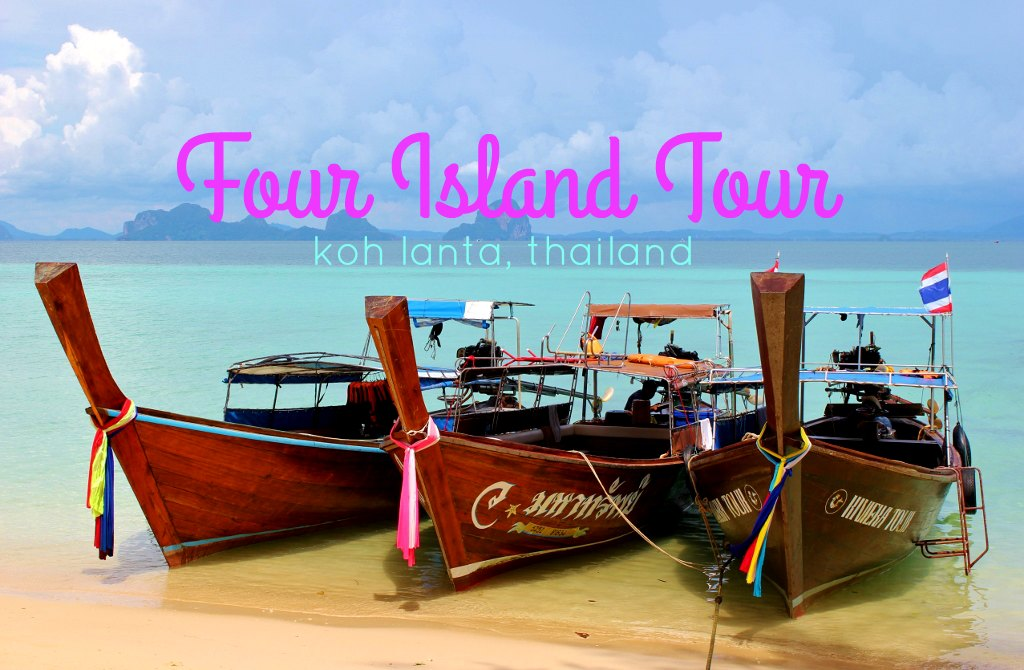 Four Island Tour from Koh Lanta, Thailand JetSettingFools.com