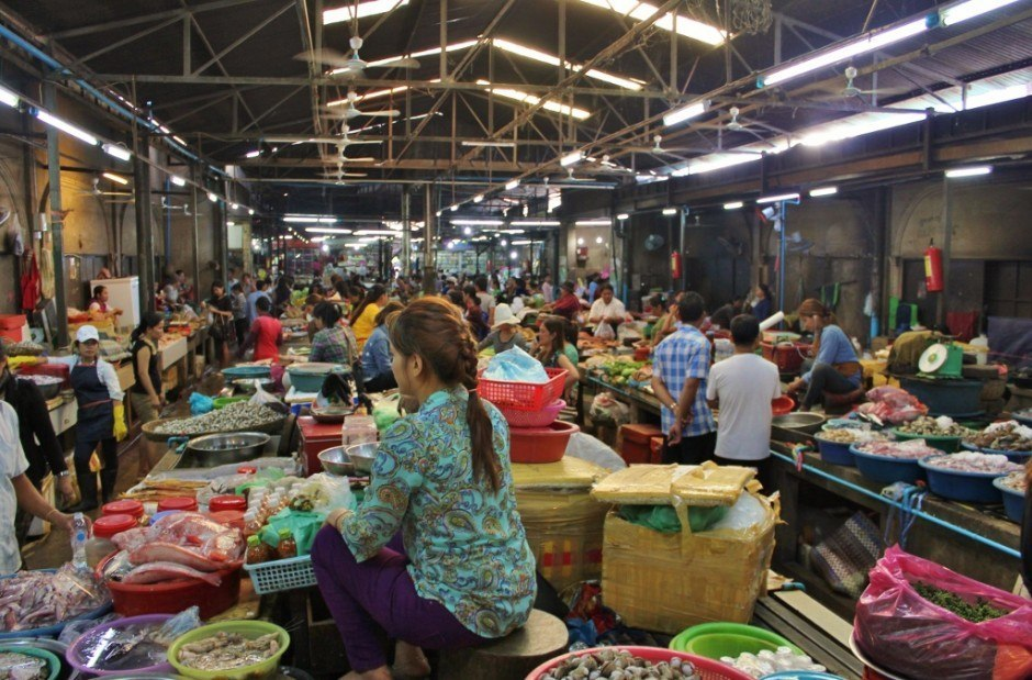 Why visit Siem Reap? The Markets.