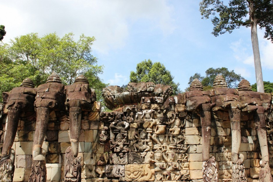 Visiting the Temples of Angkor: Terrace of the Elephants