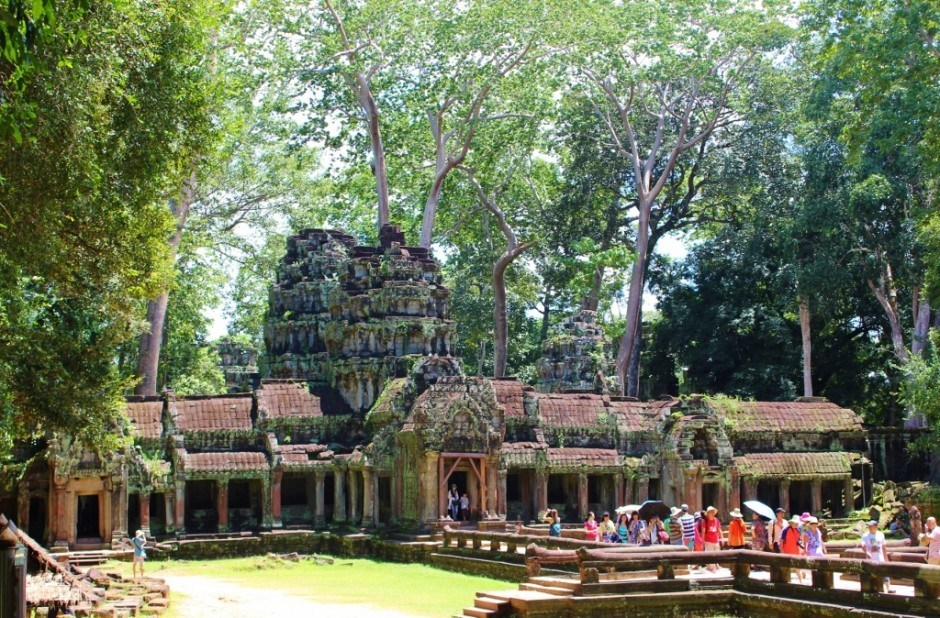 Visiting the Temples of Angkor: Ta Prohm