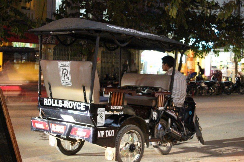 Why visit Siem Reap? Inexpensive and Inventive Tuk-tuks.