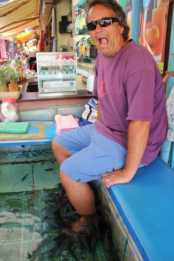 Why visit Siem Reap? Fishy pedicures