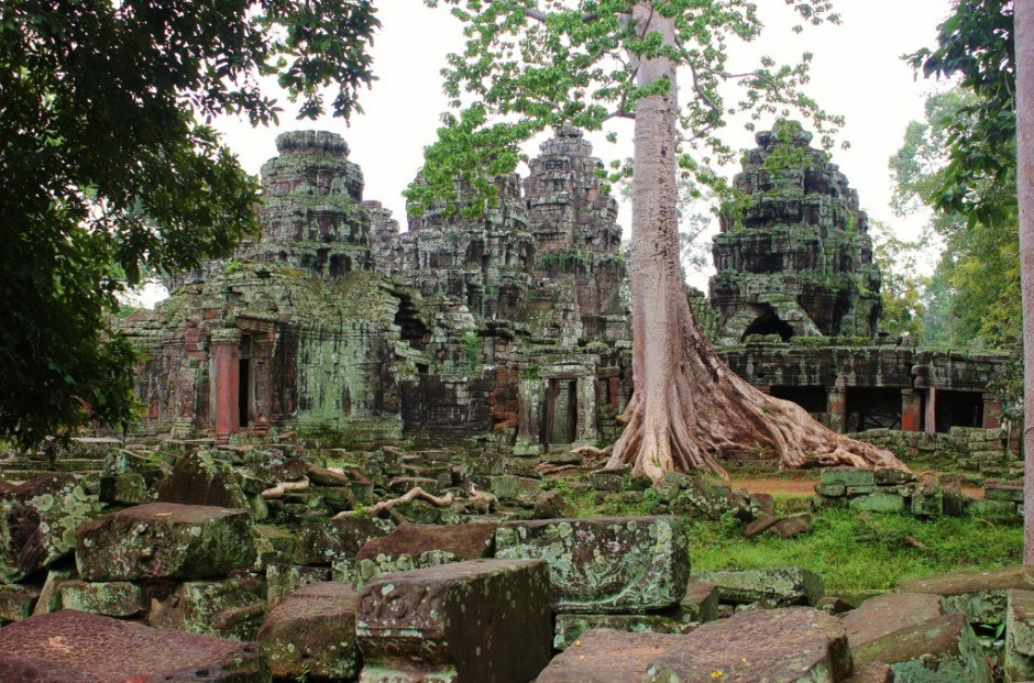 Angkor Temple Tour: Banteay Kdei - occupied by monks until the 1960s