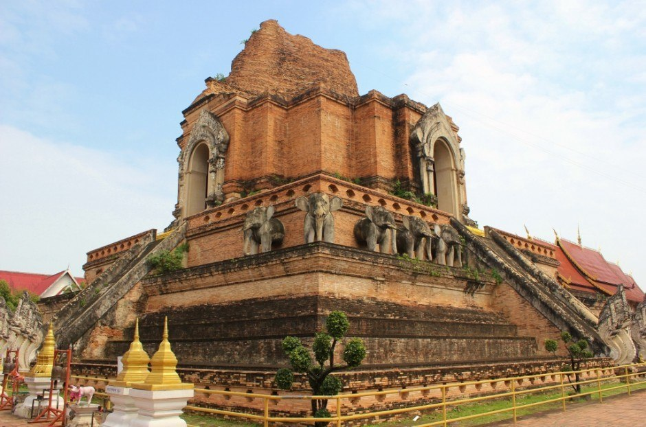 Temples in Chiang Mai: Wat Chedi Luang