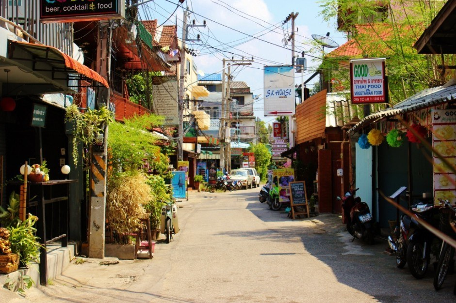 Chiang Mai, Thailand: Sois - or alleys