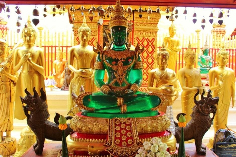 Southeast Asia, Thailand, Chiang Mai, Temple, buddha, jade