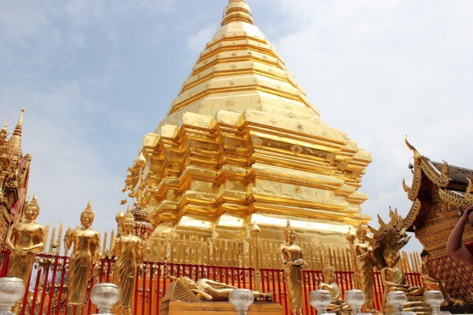 Visiting Chiang Mai temples: Doi Suthep Temple