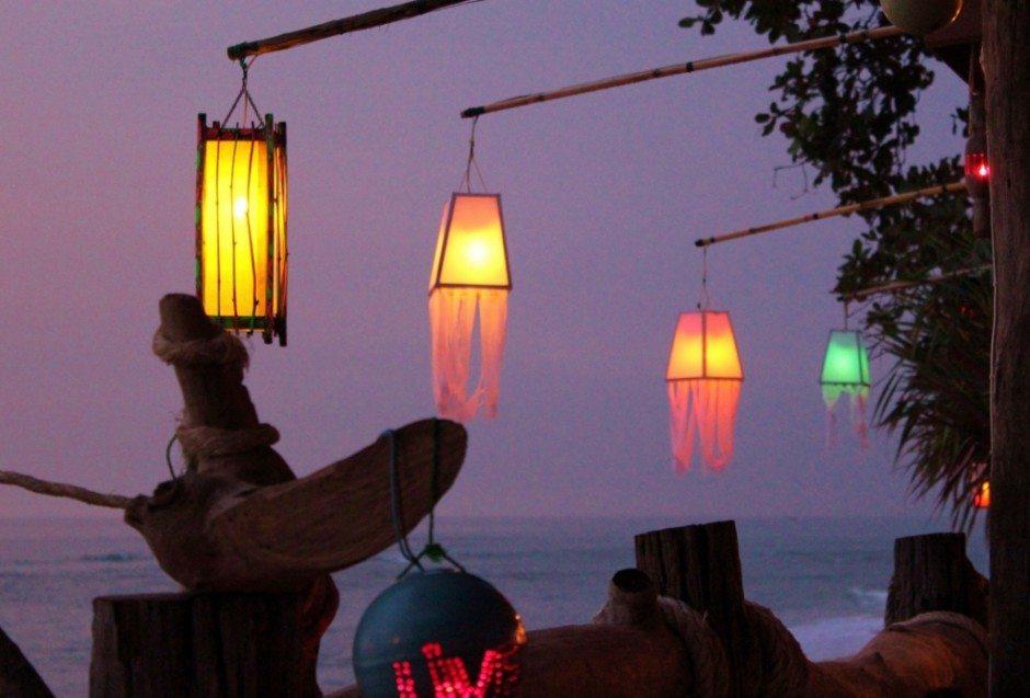Lanterns on Klong Khong Beach on Koh Lanta, Thailand