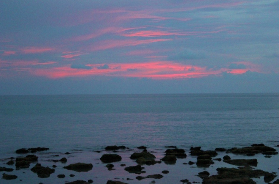 Life on Koh Lanta: Klong Khong Beach sunset