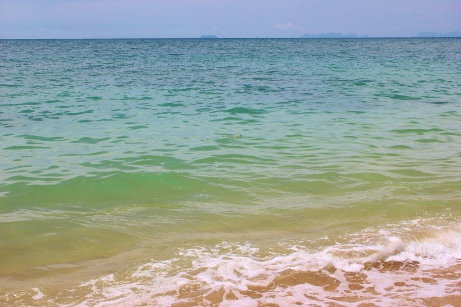 Life on Koh Lanta: Klong Khong Beach and islands in the distance