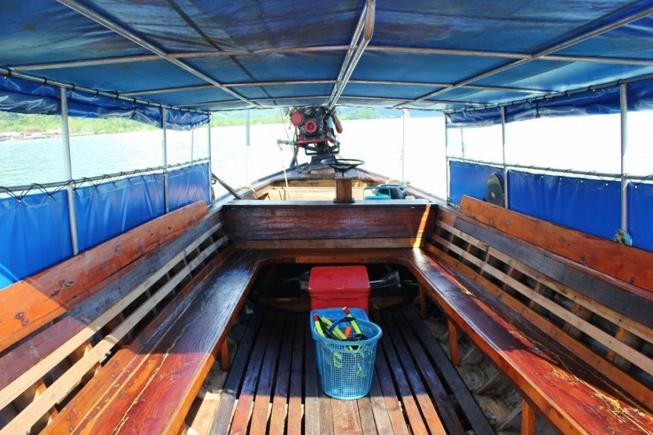 Four Island Tour from Koh Lanta: Our longtail boat