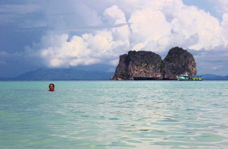Four Island Tour from Koh Lanta: View from Koh Ngai
