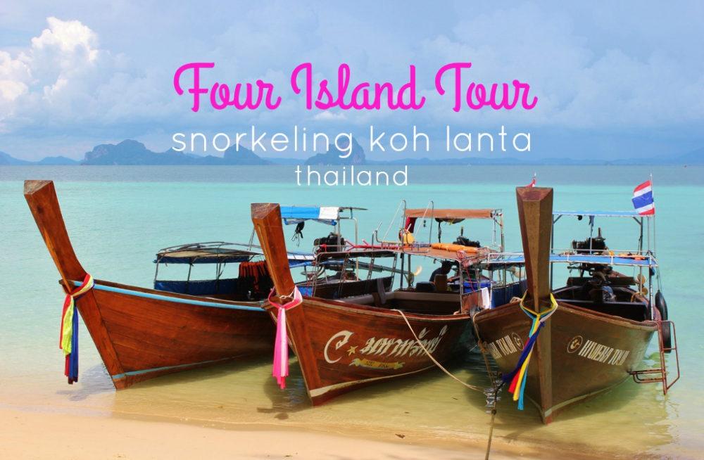 Snorkeling Koh Lanta, Thailand 4 Island Tour by JetSettingFools.com