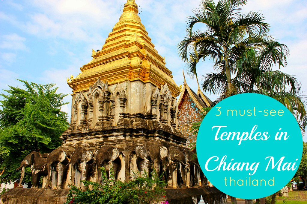 3 must-see Temples in Chiang Mai, Thailand JetSettingFools.com