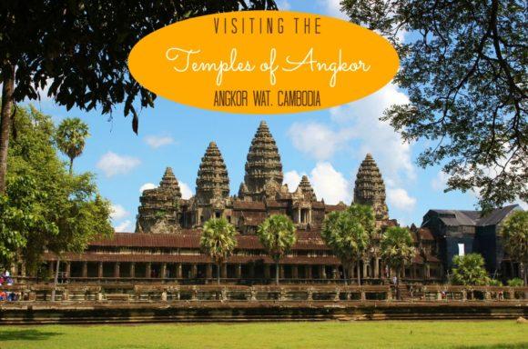 Visiting the Tmeples of Angkor Wat Cambodia JetSettingFools.com