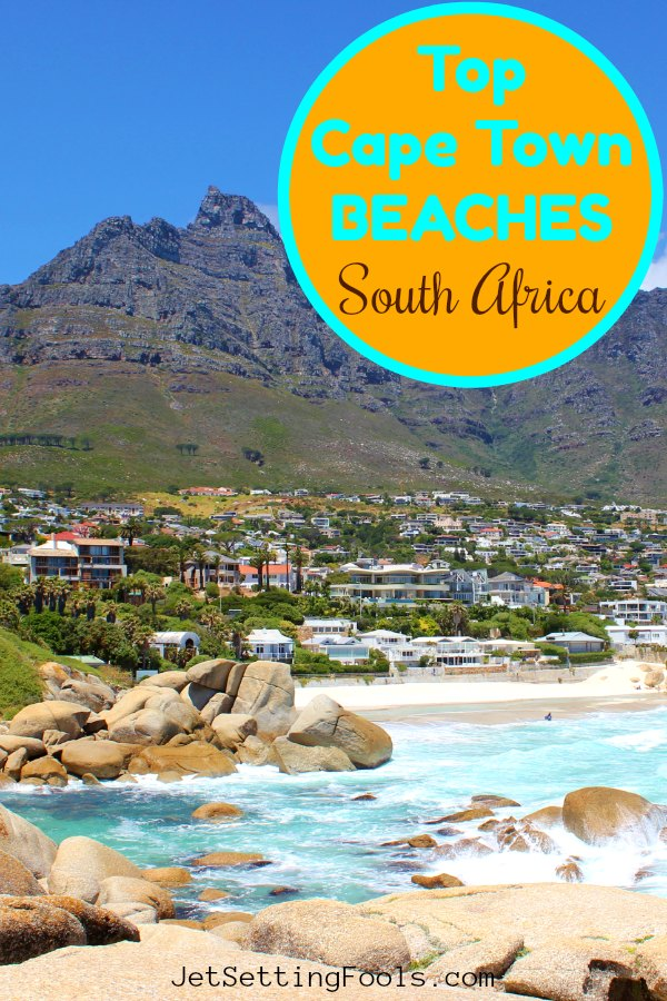 Cape Town Beaches, South Africa by JetSettingFools.com