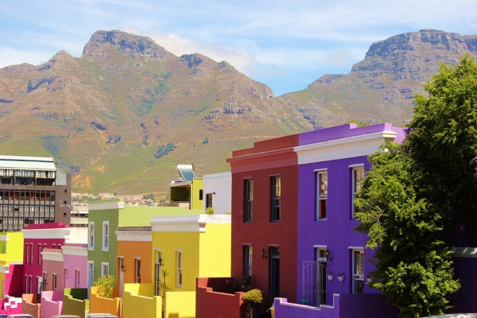 Bo-Kaap District in Cape Town, South Africa