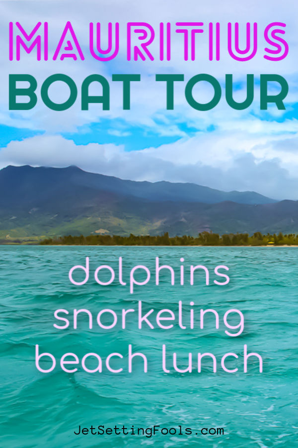 Mauritius Boat Tour Dolphins Snorkeling Beach Lunch