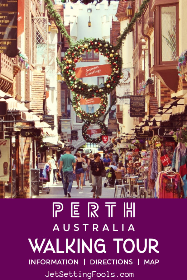 Perth, Australia Walking Tour by JetSettingFools.com