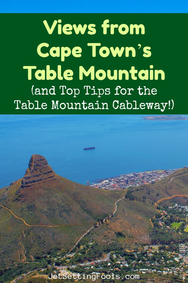 Views from Cape Town's Table Mountain in Cape Town, South Africa by JetSettingFools.com