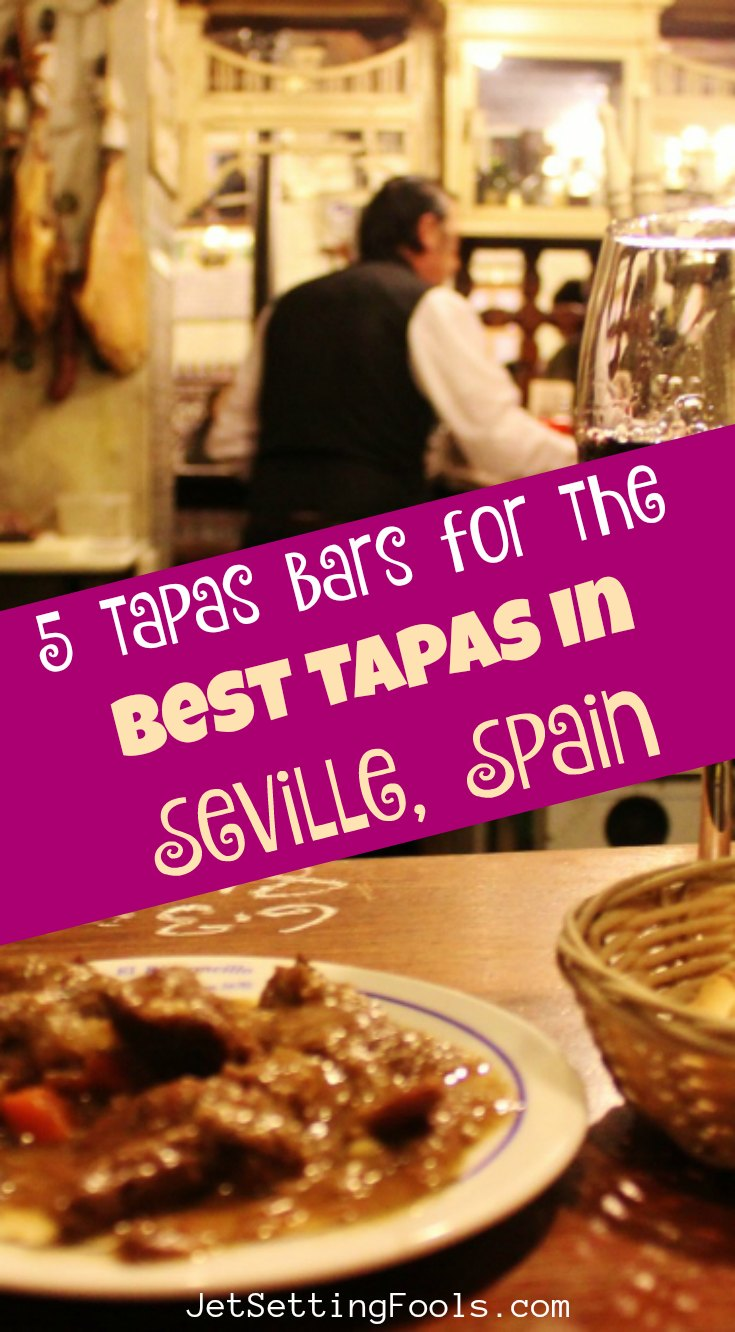5 Tapas Bars for the Best Tapas in Seville, Spain by JetSettingFools.com