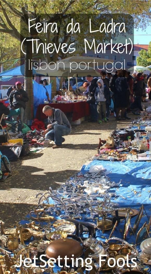 Feira da Ladra Thieves Market Lisbon Portugal JetSetting Fools
