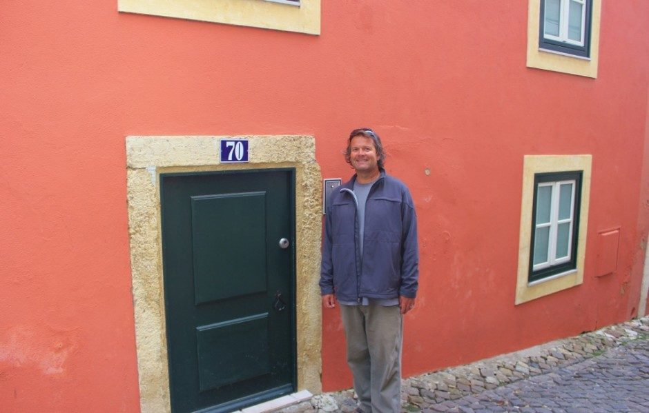 Some of the doors on the streets of Alfama are particularly short.
