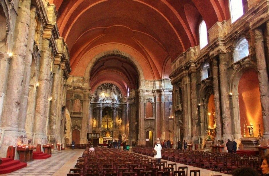 Sao Domingos Church in Lisbon, Portugal